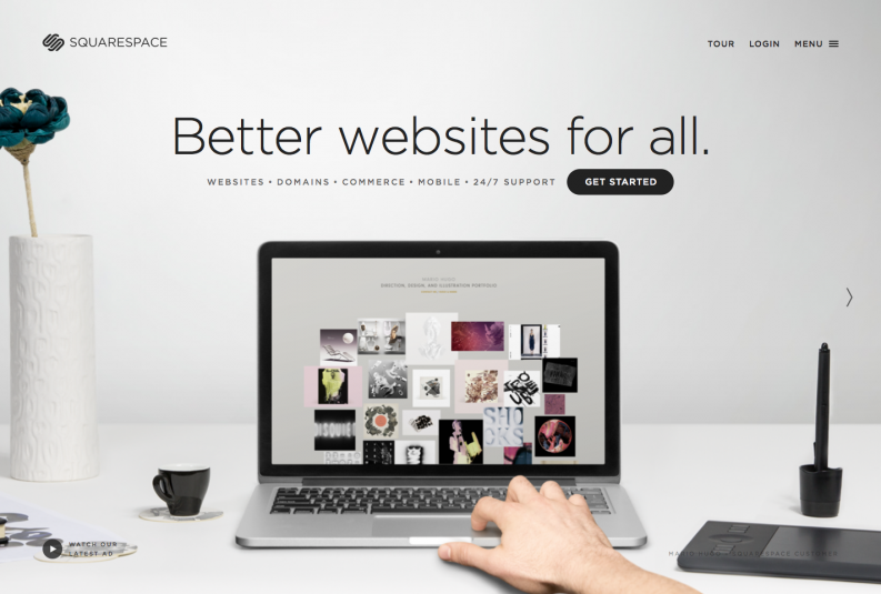 site Squarespace